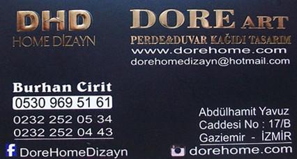 DORE PERDE GAZİEMİR