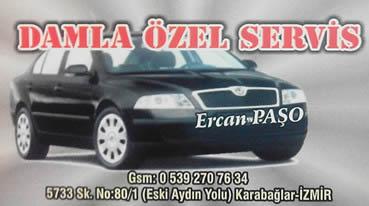 DAMLA ÖZEL SERVİSİ
