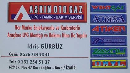 LPG BUCA AŞKIN OTO GAZ