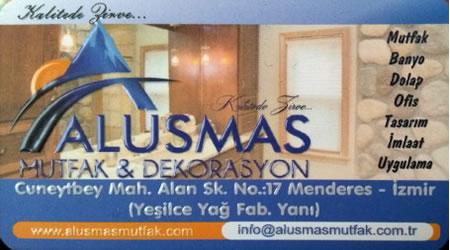 ALUSMAS MUTFAK DEKORASYON MENDERES