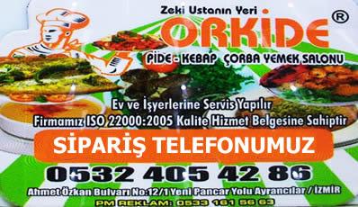 ORKİDE PİDE SALONU AYRANCILAR